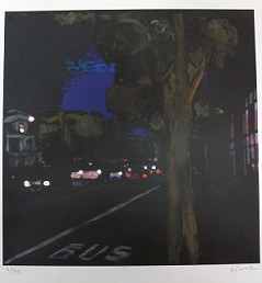 """Potrero at Night"", by Debra Walker. Retail price: $150. Minimum bid: $50."