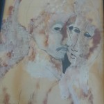 """""""Couple"""" by Shirley Kaplan"""