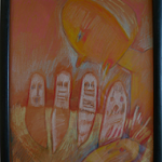 """Mayan God"" by Jane Rades"
