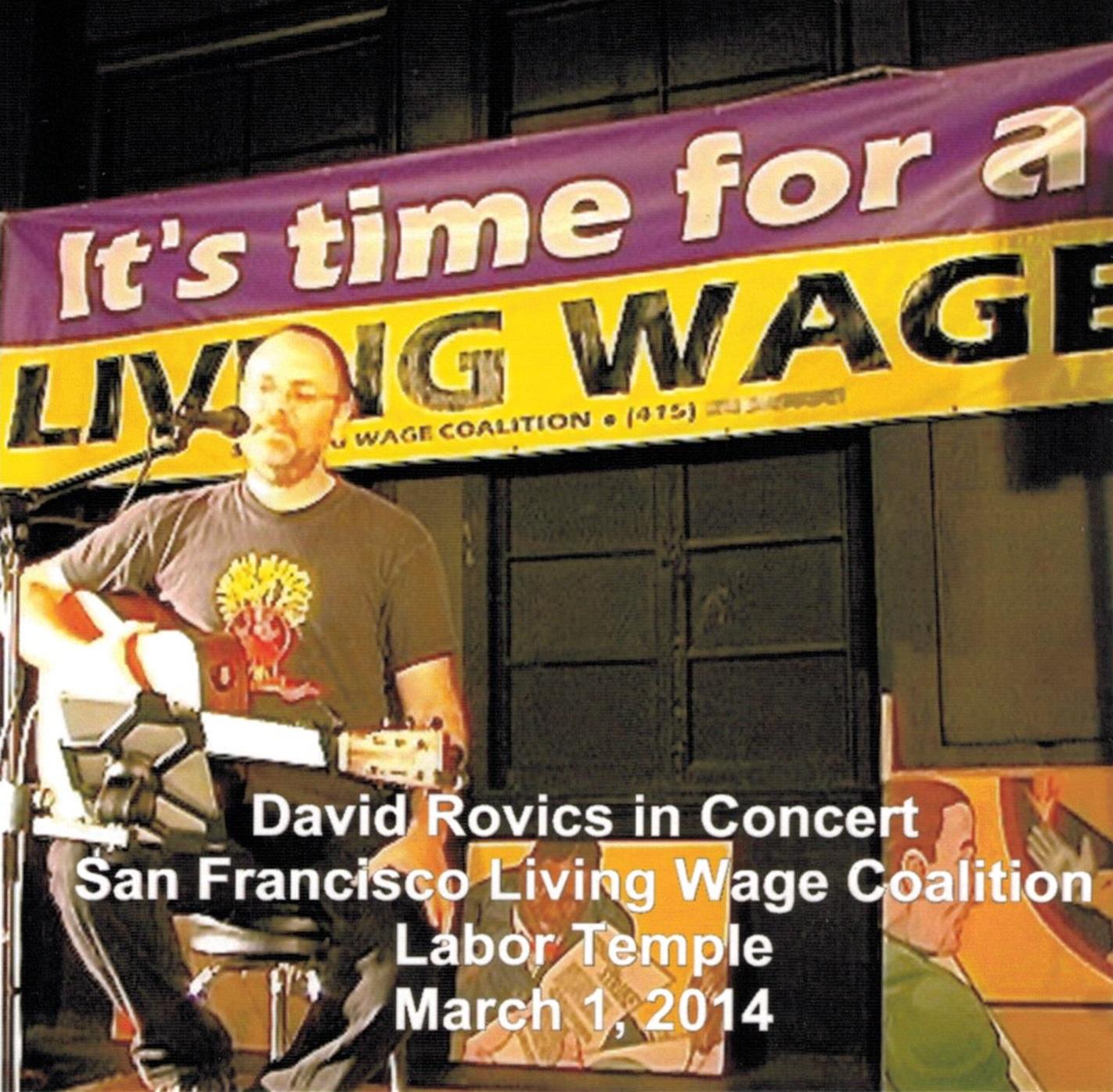 David Rovics in Concert