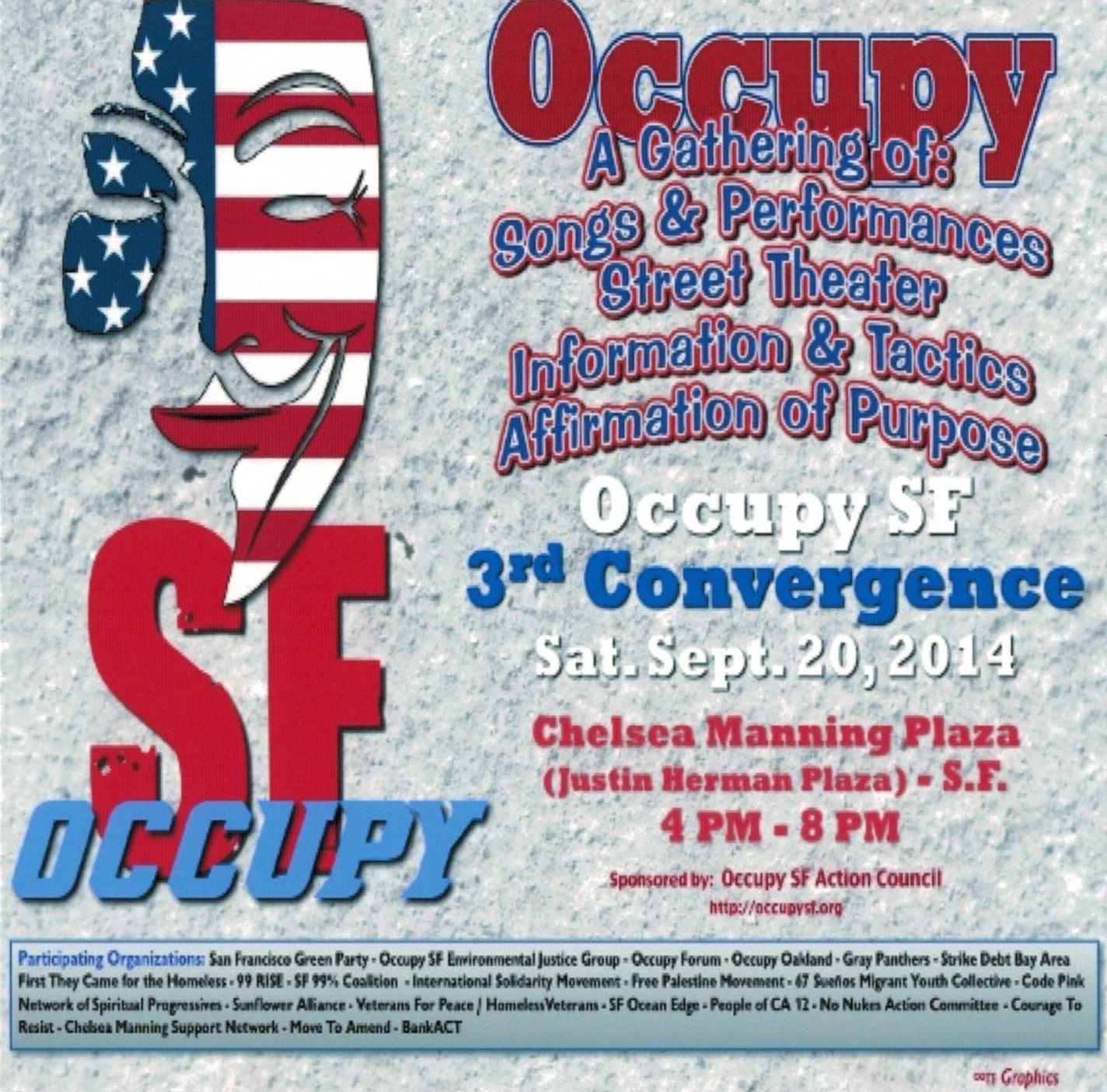 Occupy SF 3rd Convergence