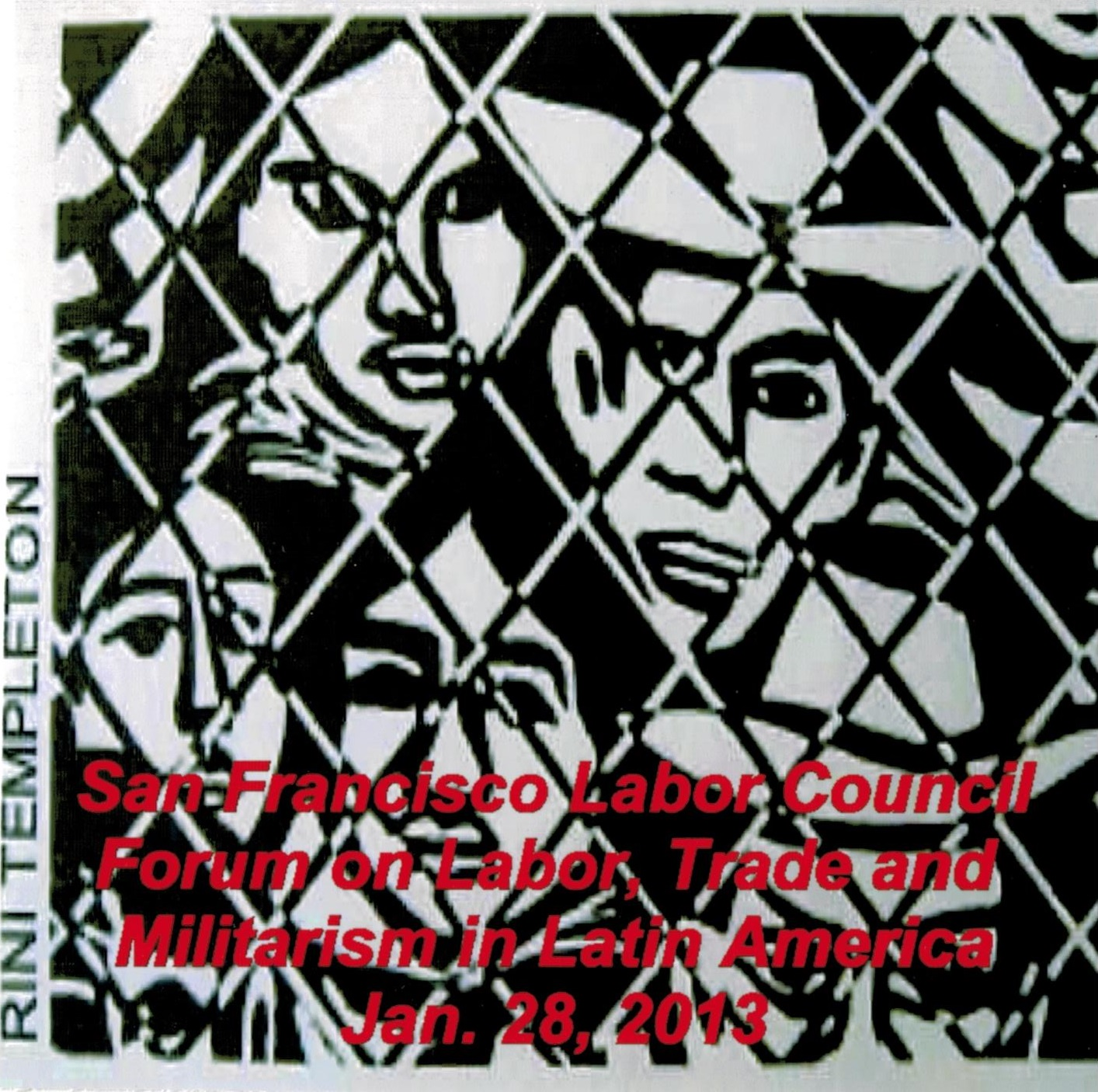 San Francisco Labor Council Forum on Labor, Trade, and Militarism in Latin America